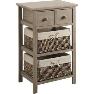 Meuble rangement 4 panier achat vente meuble rangement - Meuble tiroir panier ...
