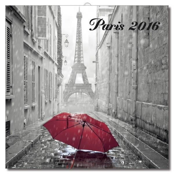 Calendrier mural 2016 paris b n achat vente calendrier for Calendrier electronique mural francais