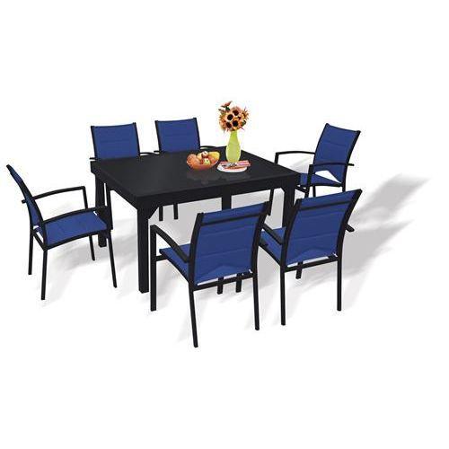 Table et chaises de jardin ensemble modulo blatt achat vente salon de jardin table et - Salon de jardin table et chaises mulhouse ...