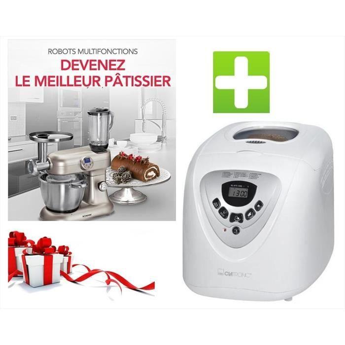 le pack robot bomann cuiseur revolution 5en1 et machine a pain achat vente pack fait maison. Black Bedroom Furniture Sets. Home Design Ideas