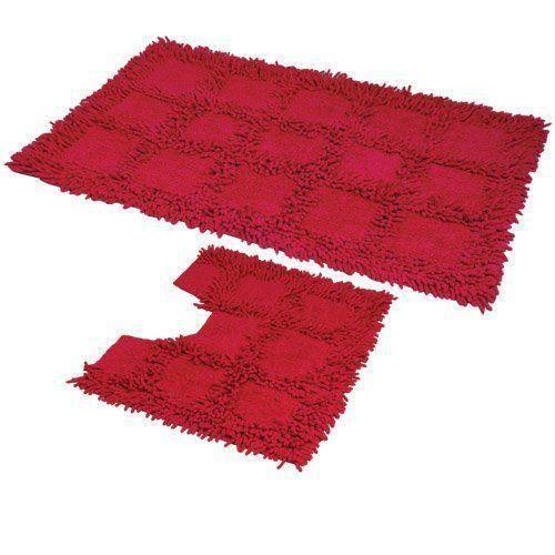 Jvlreef tapis pour salle de bain et wc lavables en machine for Tapis de cuisine lavable en machine