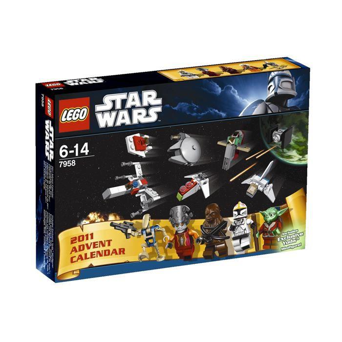 Lego star wars calendrier de l avent