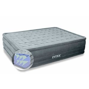 Intex Lit gonflable 2 places Ultra Plush