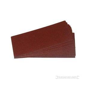 10 feuilles abrasives 93 x 230 mm