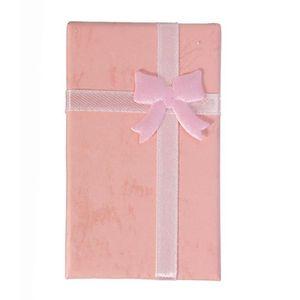 BOITE A BIJOUX Boîtes à Bijoux Cadeau En Papier ROSE 2.5*8.2*5cm