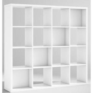 meuble 16 cases achat vente meuble 16 cases pas cher cdiscount. Black Bedroom Furniture Sets. Home Design Ideas