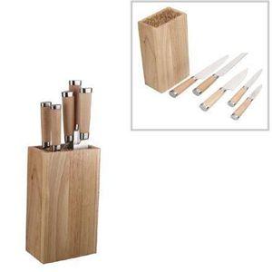 Bloc en bois pour couteaux achat vente bloc en bois pour couteaux pas cher cdiscount - Bloc en bois pour couteau ...