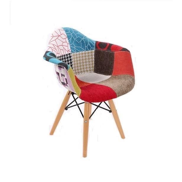 Fauteuil inspiration daw patchwork pour enfants achat for Fauteuil eames patchwork