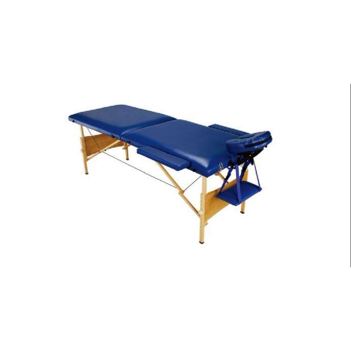 table de massage pliante bleue achat vente table de. Black Bedroom Furniture Sets. Home Design Ideas