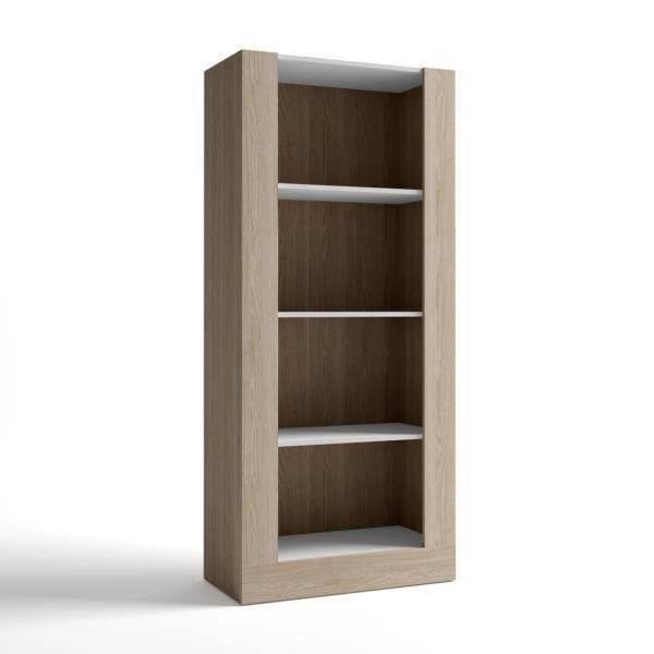etagere salon blanc achat vente etagere salon blanc pas cher cdiscount. Black Bedroom Furniture Sets. Home Design Ideas