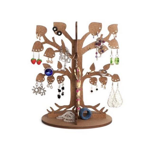 arbre porte bijoux cologique en bois achat vente supports bijoux arbre porte bijoux cologi. Black Bedroom Furniture Sets. Home Design Ideas