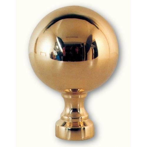 boule pommeau d 39 escalier laiton achat vente poign e de. Black Bedroom Furniture Sets. Home Design Ideas