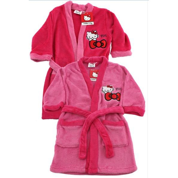 peignoir robe de chambre hello kitty 3 ans fushia achat vente peignoir cdiscount. Black Bedroom Furniture Sets. Home Design Ideas