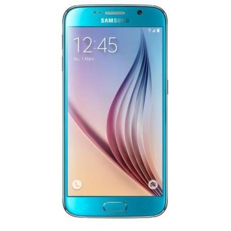 samsung g920 galaxy s6 64go bleu d bloqu tout op rateur achat smartphone pas cher avis et. Black Bedroom Furniture Sets. Home Design Ideas