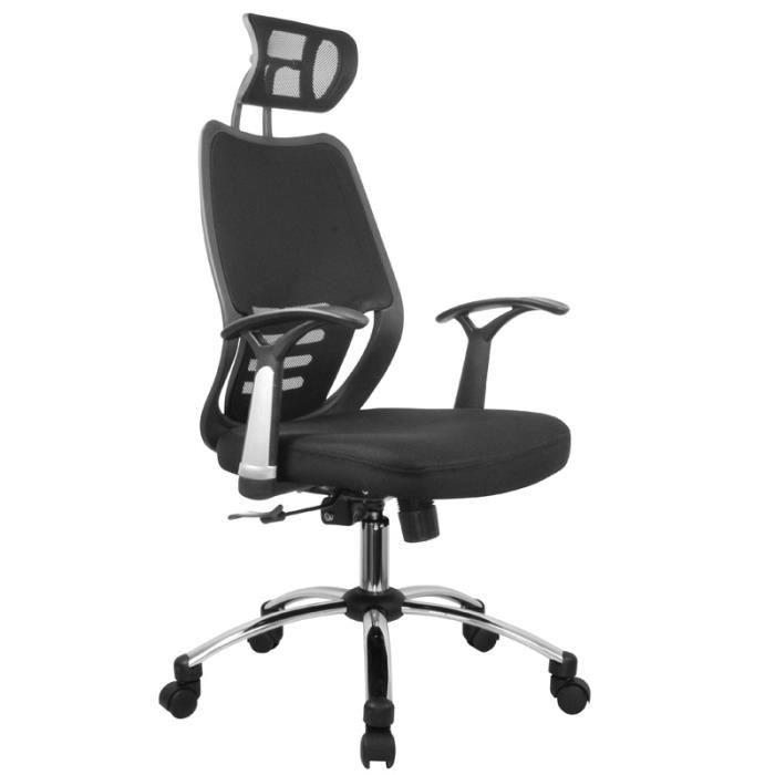 Fauteuil de bureau si ge titan achat vente chaise de bureau noir cdiscount - Cdiscount fauteuil de bureau ...