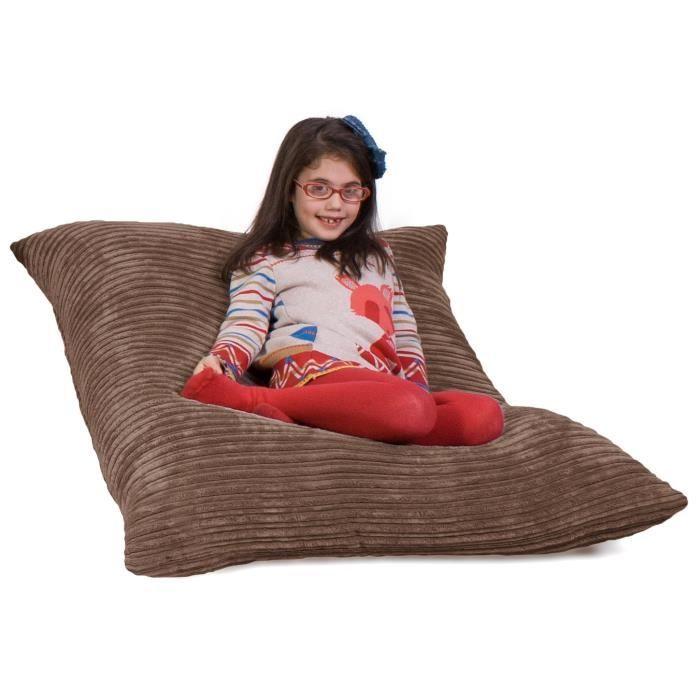 pouf g ant c tel classique moka achat vente pouf poire cdiscount. Black Bedroom Furniture Sets. Home Design Ideas