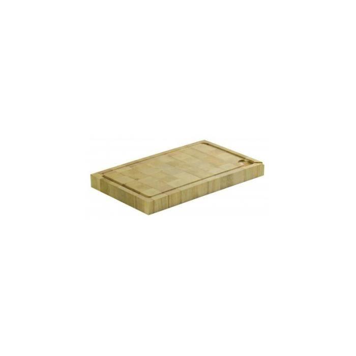 planche a decouper bois debout 500x325x50mm achat. Black Bedroom Furniture Sets. Home Design Ideas