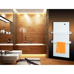 Radiateur electrique soufflant salle de bain mural achat - Radiateur salle de bain seche serviette soufflant ...