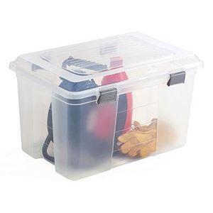 Boite de rangement plastique 100 l achat vente boite - Boite de rangement plastique avec couvercle pas cher ...