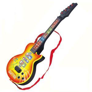 guitare electrique pour enfants pas cher achat vente. Black Bedroom Furniture Sets. Home Design Ideas