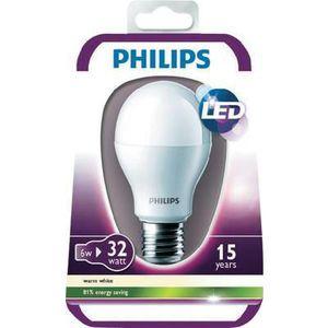 ampoule led philips 60w achat vente ampoule led philips 60w pas cher cdiscount. Black Bedroom Furniture Sets. Home Design Ideas