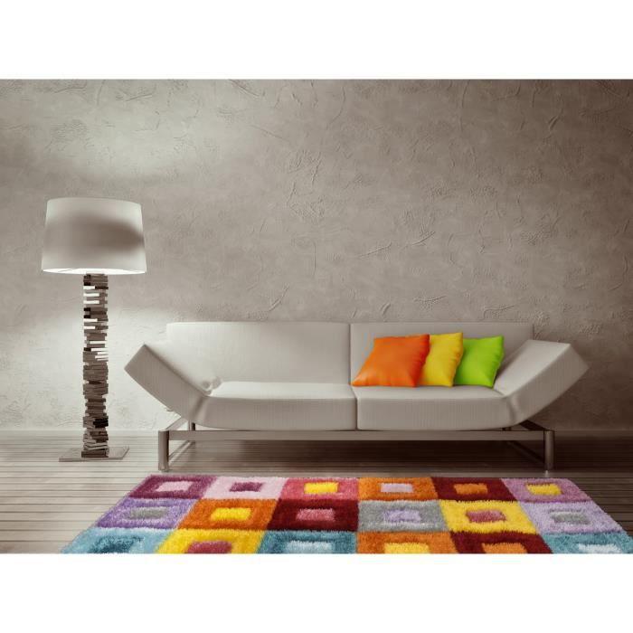 tapis multicolore les bons plans de micromonde. Black Bedroom Furniture Sets. Home Design Ideas