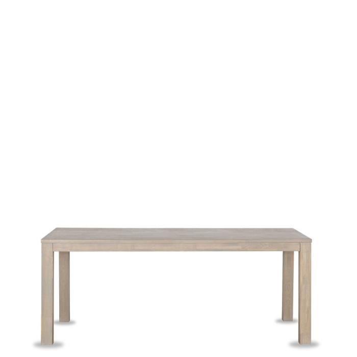 Table manger en ch ne fum dutchwood dimensions 230x90 - Dimensions table a manger ...