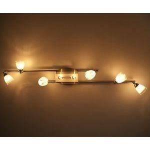 luminaire lustre lampe 6 spots sur rail lampe su achat vente luminaire lustre lampe 6 sp. Black Bedroom Furniture Sets. Home Design Ideas