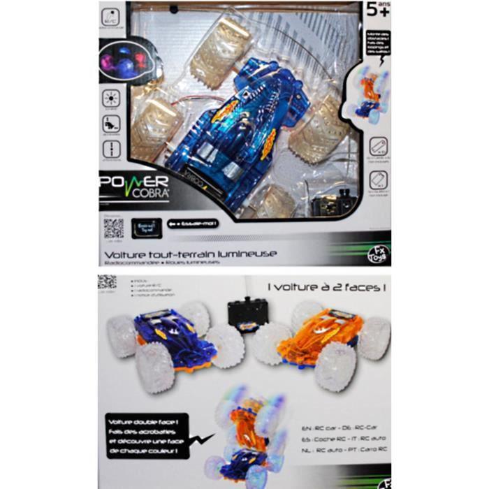 voiture radiocommande tout terrain lumineuse accrobaties jouet achat vente voiture enfant. Black Bedroom Furniture Sets. Home Design Ideas