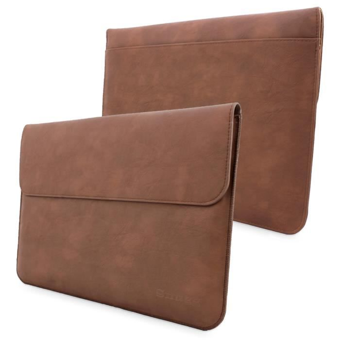 snugg pochette marron pour microsoft surface pr achat housse tui pas cher avis et. Black Bedroom Furniture Sets. Home Design Ideas