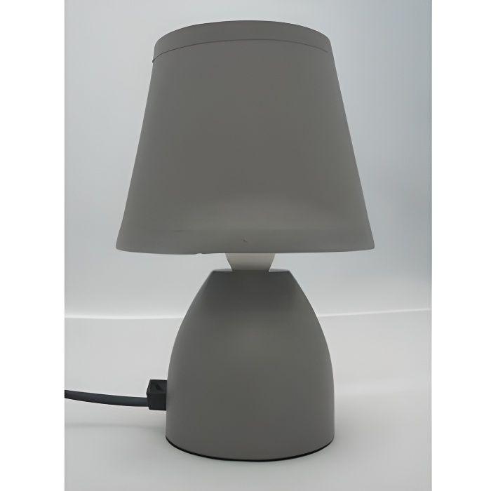Lampe chevet grise - Lampe de chevet grise ...