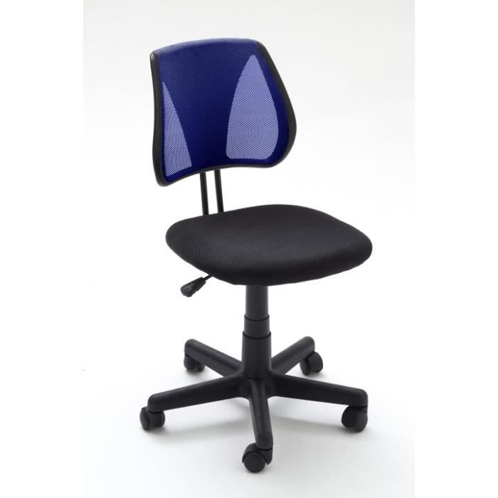 Chaise de bureau pepper l 40 x p 38 x h 78 88 cm pieds for Bureau 40 cm
