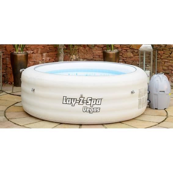 Spa lay z rond gonflable vegas 4 6 places achat vente spa complet kit s - Dimension spa 6 places ...