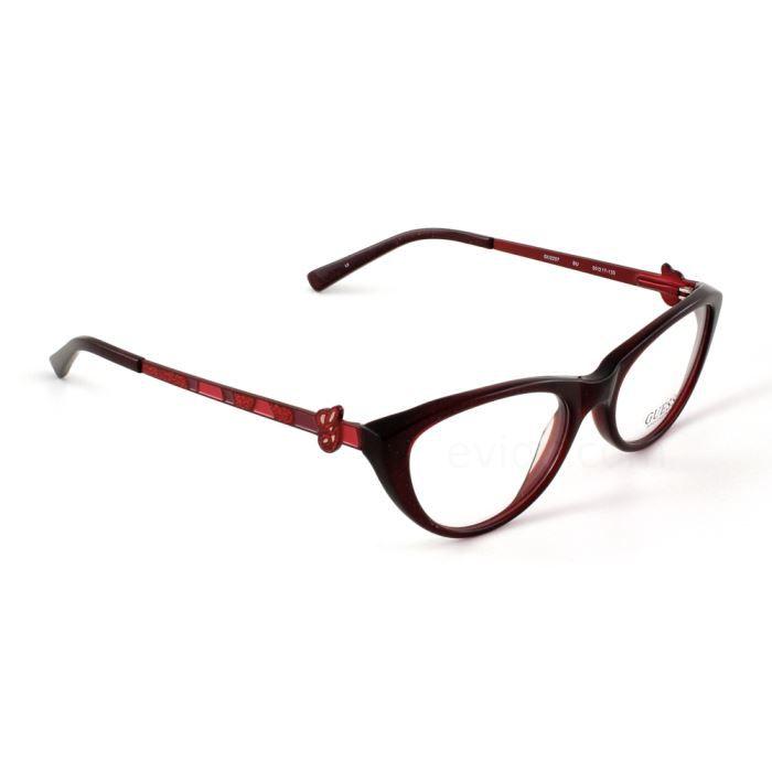 guess 2257 rouge achat vente lunettes de vue guess 2257 rouge cdiscount. Black Bedroom Furniture Sets. Home Design Ideas
