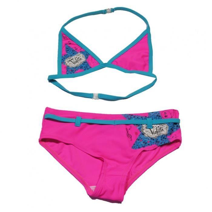 Disney violetta bikini maillot de bain fille rose - Jeux de violetta gratuit pour fille ...