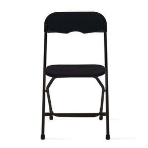 chaise pliante interieur achat vente chaise pliante interieur pas cher cdiscount. Black Bedroom Furniture Sets. Home Design Ideas