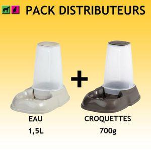 distributeur croquette chat achat vente distributeur croquette chat pas c. Black Bedroom Furniture Sets. Home Design Ideas