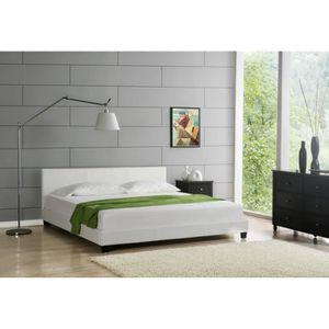 lit 160x200 avec chevet achat vente lit 160x200 avec. Black Bedroom Furniture Sets. Home Design Ideas