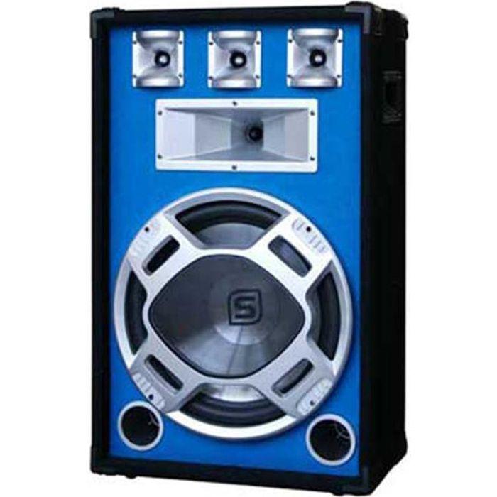enceinte passive bleue 38cm 800w led enceinte et retour avis et prix pas cher cdiscount. Black Bedroom Furniture Sets. Home Design Ideas