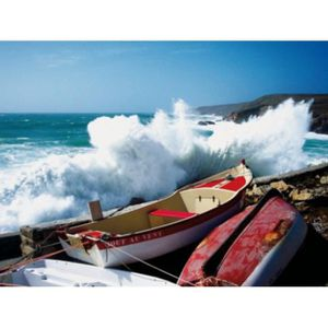 Poster mural mer achat vente poster mural mer pas cher soldes cdiscount for Poster mural paysage pas cher