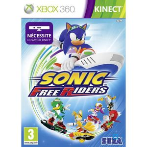 JEUX XBOX 360 SONIC FREE RIDERS KINECT / Jeu console Xbox 360