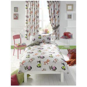 parure de lit noeud achat vente parure de lit noeud pas cher cdiscount. Black Bedroom Furniture Sets. Home Design Ideas