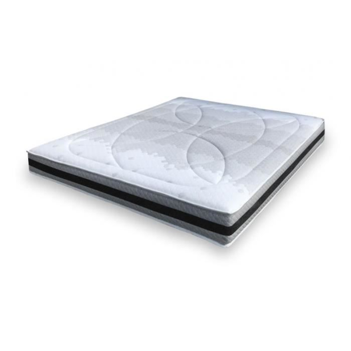 alitea matelas anatomic 160 140x200 latex achat vente matelas cdiscount. Black Bedroom Furniture Sets. Home Design Ideas