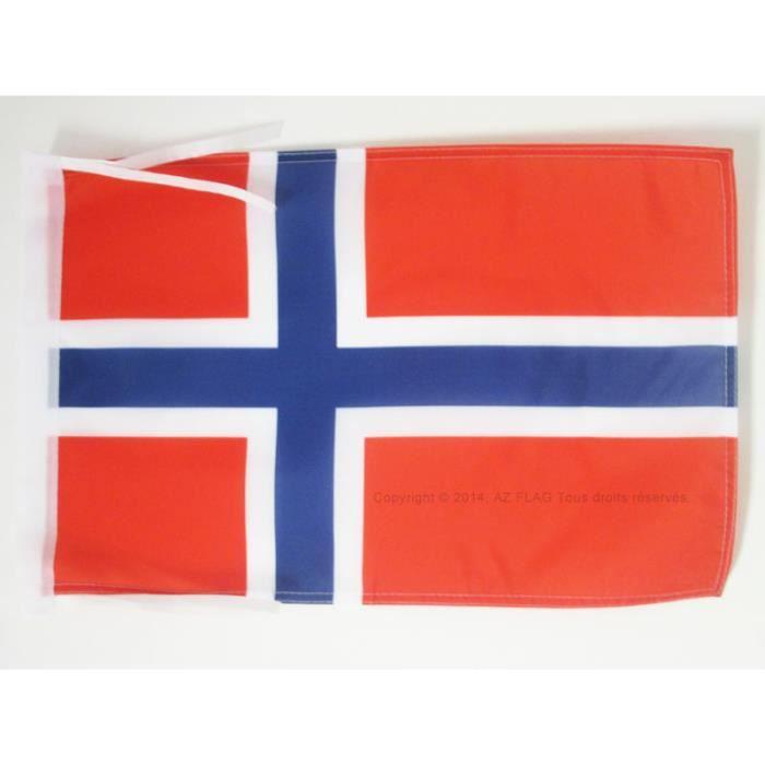 Drapeau norv ge 45x30cm norv gien haute qualit achat for Linge de maison haute qualite