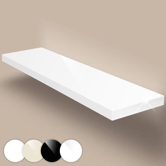 tag re murale 100 cm coloris au choix hochglanz magnolie achat vente etag re murale tag re. Black Bedroom Furniture Sets. Home Design Ideas