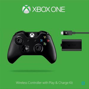 MANETTE CONSOLE Manette Sans Fil XBOX One + Kit Play & Charge