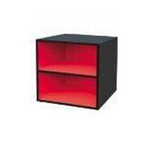 meuble colonne noir achat vente meuble colonne noir pas cher cdiscount. Black Bedroom Furniture Sets. Home Design Ideas