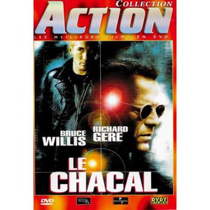 DVD FILM DVD LE CHACAL - COLLECTION ACTION / BRUCE WILLIS -