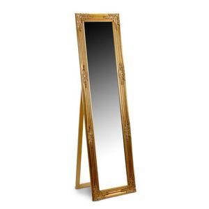 Miroir dore achat vente miroir dore pas cher cdiscount - Miroir psyche pas cher ...