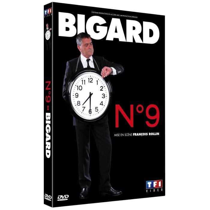 DVD SPECTACLE DVD Bigard n°9